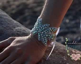 Wedding Bracelet, Rhinestone Bridal Bracelet, Couture Crystal Bridal Cuff, Wedding Jewelry,Rhinestone Cuff,Rhinestone Bracelet,