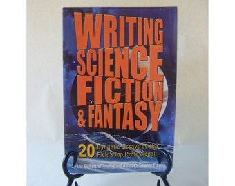 Writing Science Fiction & Fantasy Vintage Book Author Isaac Asimov Sci Fi Space Storytelling Author Writer Novelist Novel How To Playwright