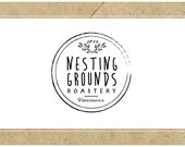 PreDesigned Vector Logo Design - PreMade Vector Logo Design - Custom Vector Logo Design - NESTING GROUNDS design - Business Branding