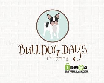 dog logo design pet logo design bulldog logo premade logo design pet shop logo graphic design pet photography logo bespoke logo watermark