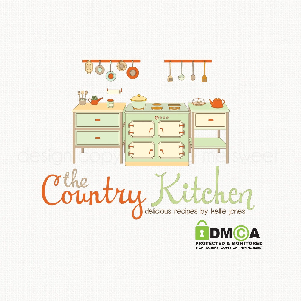 Kitchen logo design chef logo design cooking by for Kitchen decoration logo