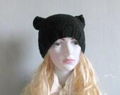 Knit Turban Hat, Handmade Hat, Beanie,Handmade Hat, Knit Cap, Turban Hat Soft and comfortable ladies beanie Women Knit Hat Hand Knit Hat