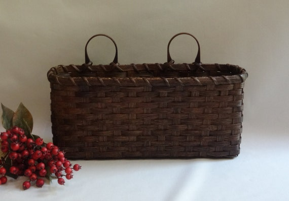 Large wall basket wall decor handwoven basket - Decorative basket wall art ...