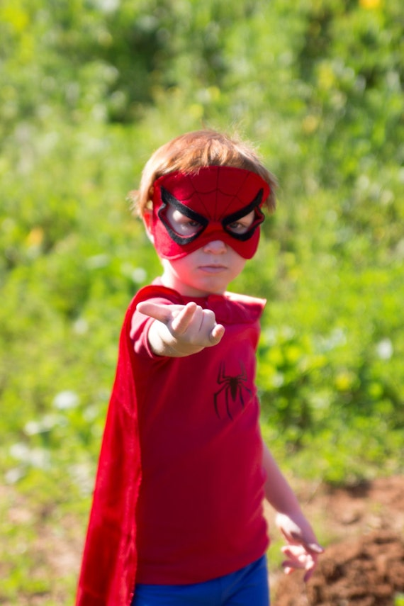 Tiny Spiderman Costume from Etsy