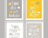 My Sunshine Baby Wall Art You Are My Sunshine Kids