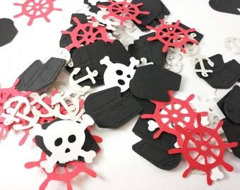 Pirate Party Confetti Mix: 140 Pieces, Confetti, Scrapbooking, Birthday, Table Decor, Pinata