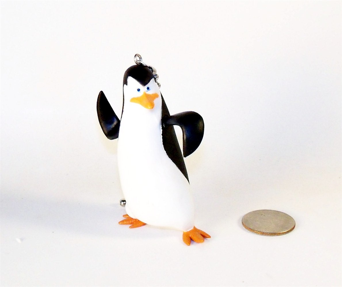 Rare Penguins Of Madagascar Ceiling Fan Light Pull Chain