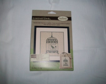 Birdcage Embroidery Kit