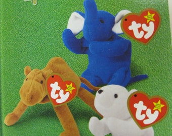 Legends Rare Collectible Set Brings Back Memories McDonalds & Ty Teenie Beanie Babies NIP Set of Three Chilly, Humphrey and Peanut to Share
