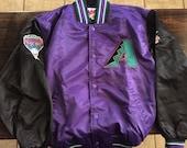 Vintage arizona diamondbacks starter jacket diamond collection medium