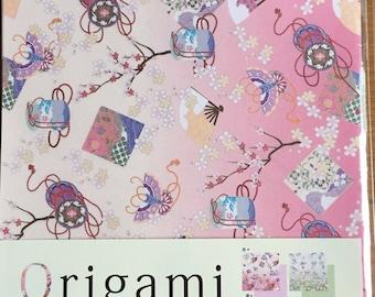 Japanese Origami paper set (chiyogami)