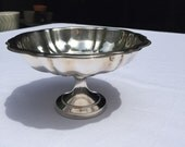 Silver Plated Compote - Footed Bowl - Pedestal