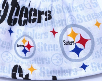 Pittsburgh Steelers - Fancy Ruffled Rubber Gloves - Cleaning Gloves - Dishwashing Gloves