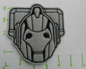 Cyberman Felt Patch
