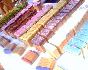BUY 6 SHIP FREE : Coconut Milk Soap, Artisan Soap, Shea Butter Soap, Natural Soap, Free Shipping, Soap Sale, Deal, Gifts