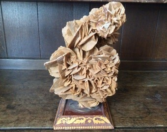 Antique Chinese scholars tall heavy mineral formation organic natural desktop sculpture circa 1910's / English Shop
