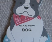 Very Cute Memo Pad/Note Pad From Japan - Dog 81