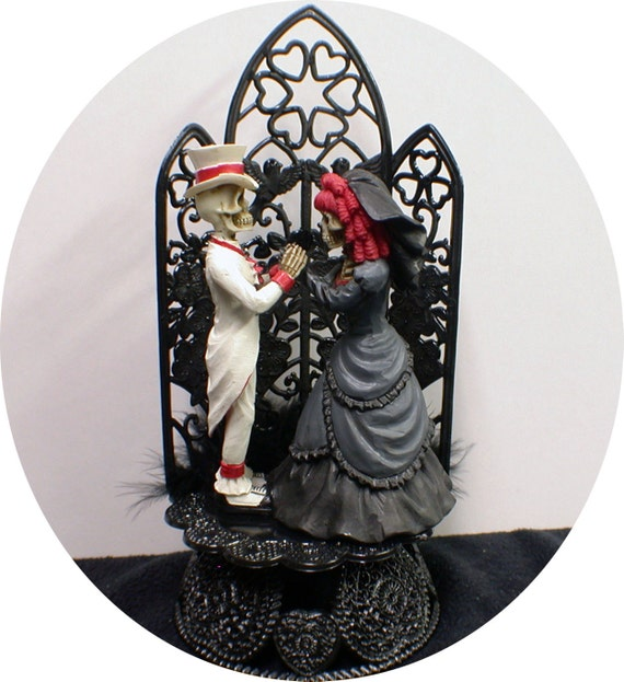 gothic wedding cake cutters black wedding cake topper by 14875