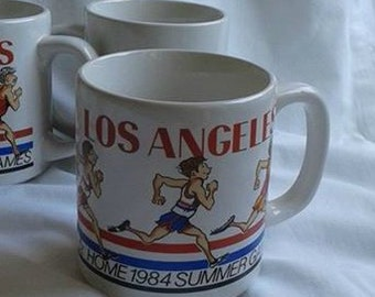 Olympics Summer Games 1984 Mugs