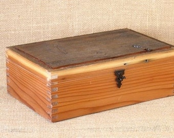 Off the Fence #2: A series of boxes crafted from reclaimed fence boards.