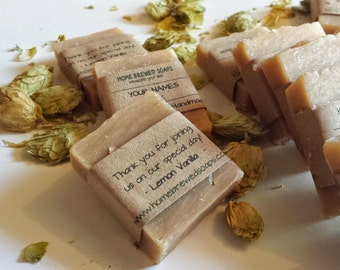Fall Wedding - Soap Wedding Favors - Beer Soap - Rustic Wedding Favors - Beer Soap - Rustic Wedding - Wedding Favors - Personalized Favors