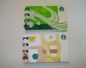 2 Pack of Upcycled Notebooks
