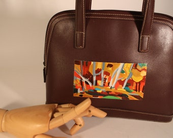Handpainted Jones New York Handbag