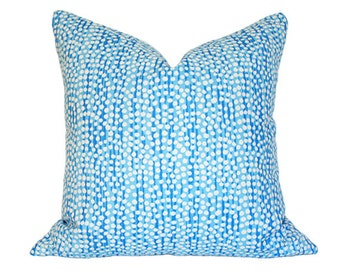 Mojave Celeste Pillow Cover (Single-Sided) - Made-to-Order