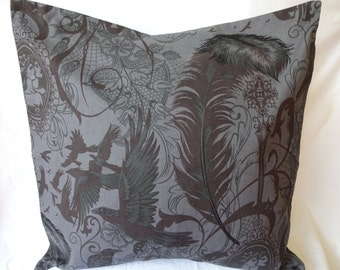 Crow and Quill pillow cover