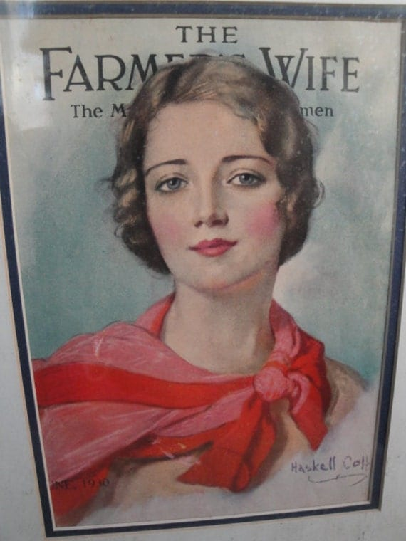 Vintage Matted Farmers Wife Magazine Cover June 1930 16