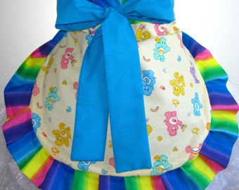 Rainbow Care Bear Half Apron