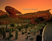 Cars Land - Fine Art Photography Digital Photo, High-Resolution, Instant Download