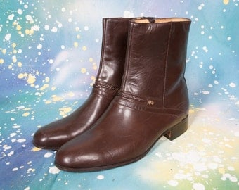 Brown Beatle Boot Men's Size 10 M