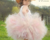 Child Size Shabby Chic Vintage Tutu  Great for Mommy and me photo shoots, Birthdays, Photography Prop, and Dance