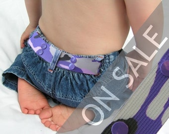SALE Belt for Preschooler - Elastic Snap Belt