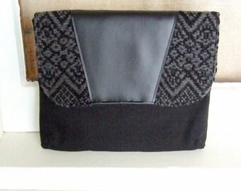 Men's ipad cover / Padded Tablet Case / iPad Case / 8 x 10 Tablet Case / Swoon Patterns Dakota