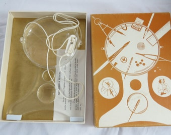 Vintage Ezy-Vue Craft Supply for Hands Free Magnifer    box o