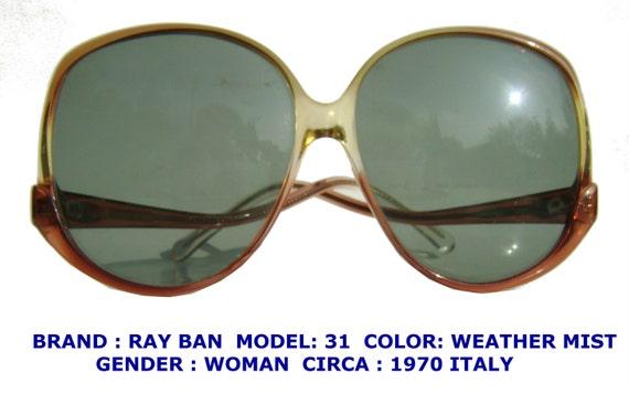 Vintage Ray Ban Sunglasses Baush and Lomb Eyewear by ...
