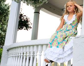 southern charm gorgeous girls maxi dress