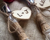 Personalized Country Chic Wedding Cake Server And Knife Set