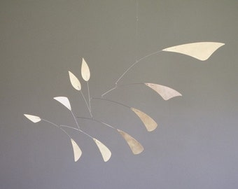 Abstract Brass Mobile