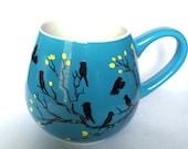 Blackbirds - coffee mug