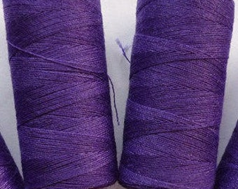 Purple Sewing Thread- 2 spools