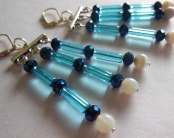 Water Fall chandelier earrings E519