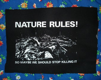 Nature Rules Patch
