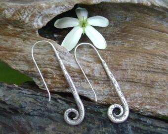Thai Karen Hilltribe Silver Earrings - The Silver Pin (5)