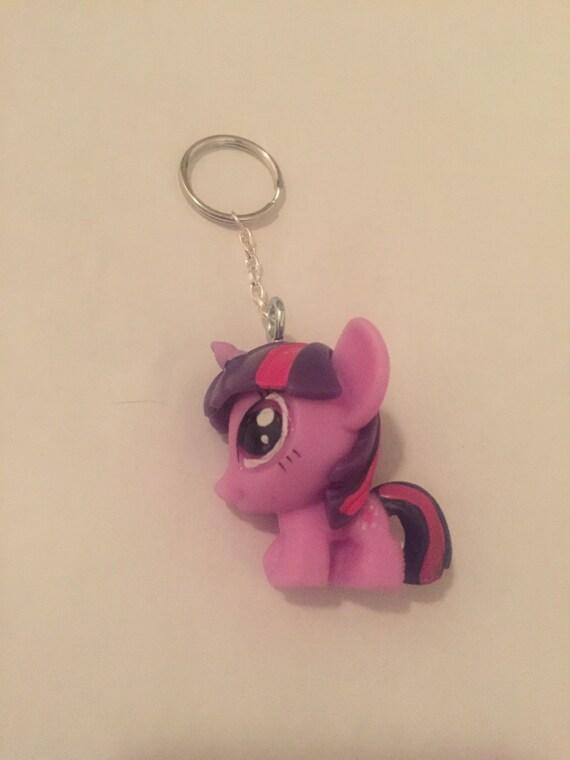 Squishy Keychain : Squishy Twilight Sparkle Keychain by Velvetdiva on Etsy