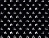 Military Max Skulls in Black, Bella Blvd, Stephanie Hunt, Riley Blake Designs, 100% Cotton Fabric, C4373-BLACK