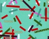 Tinsel Washi in Teal, Rashida Coleman-Hale, Cotton+Steel, RJR Fabrics, 100% Cotton Fabric, 5016-1