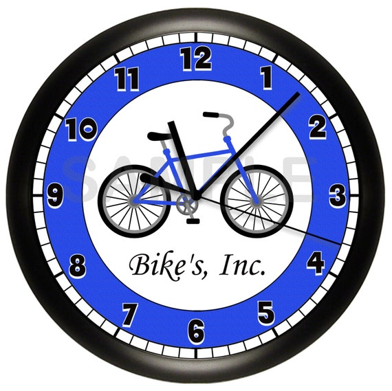 Bike Design Wall Clock : Bicycle wall clock